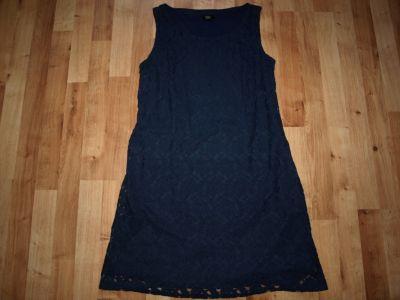 Suknie i sukienki Granatowa koronkowa 40 42
