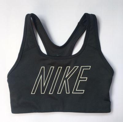Biustonosze Stanik Sportowy Nike Czarny Dri Fit S 36 Top Biustonosz