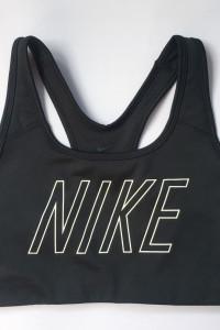 Stanik Sportowy Nike Czarny Dri Fit S 36 Top Biustonosz...