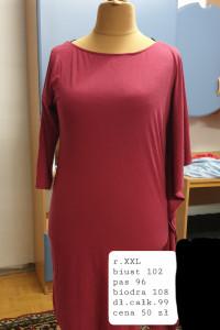 sukienka z nieregularnymi rękawami rozmiar XXL...