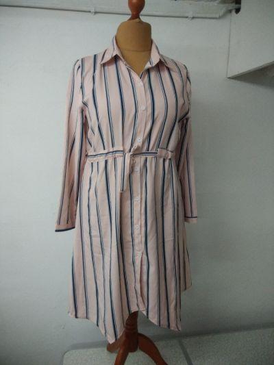 Tuniki tunika sukienka z kołnierzem rozmiar L XL
