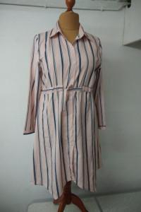 tunika sukienka z kołnierzem rozmiar L XL...
