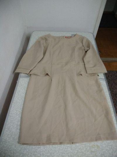 Suknie i sukienki sukienka w 2 kolorach ciemny i jasny beż rozmiar 44