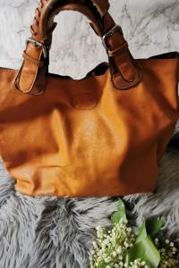 shopper bag torba karmel
