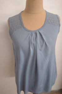 Letnia niebieska bluzka włoska rozmiar XL 2XL...
