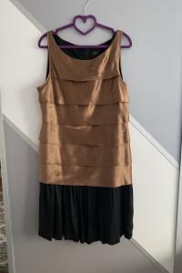 Sukienka jedwabna w stylu lat 20tych...