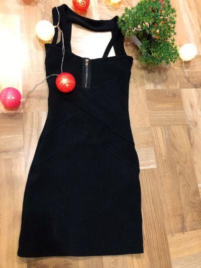 Suknie i sukienki Czarna sukienka Bay bez plecow rozmiar S