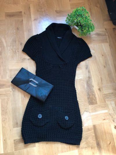 Suknie i sukienki Krótka sukienka czarna okay rozmiar z metki 34