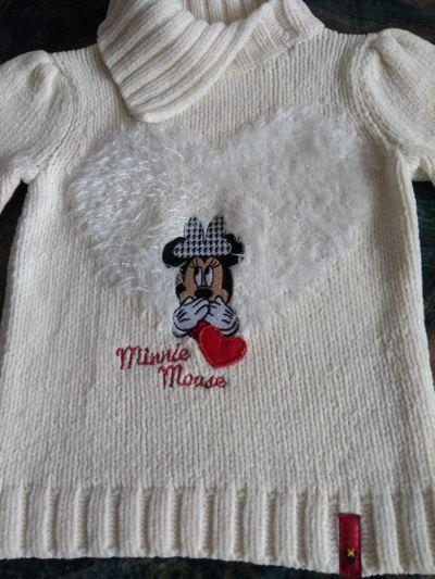 Bluzy Sweter Disney Myszka Minnie