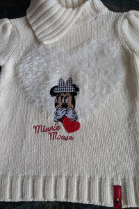 Sweter Disney Myszka Minnie...