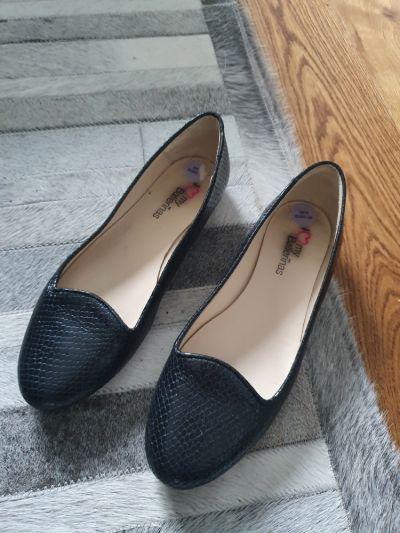 Balerinki Balerinki buty letnie skórzane 39 25cm