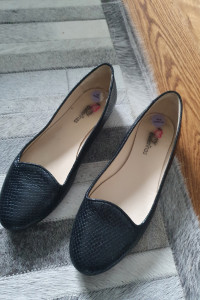Balerinki buty letnie skórzane 39 25cm...