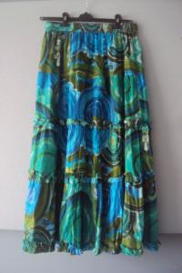 kolorowa spódnica maxi...