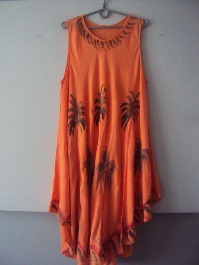 Suknie i sukienki letnia trapezowa sukienka
