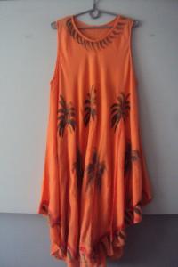 letnia trapezowa sukienka