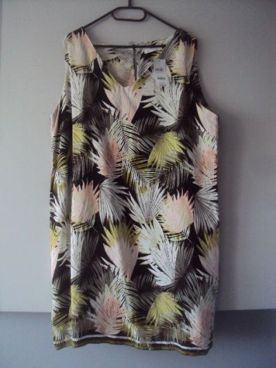 Suknie i sukienki nowa sukienka w liście