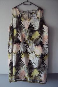 nowa sukienka w liście