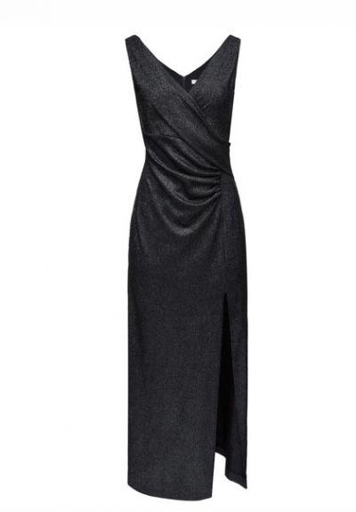 Suknie i sukienki Elegancka czarna sukienka Taranko