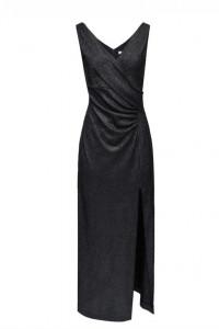 Elegancka czarna sukienka Taranko
