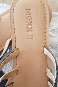 Klapki skórzane Mexx rozmiar 38
