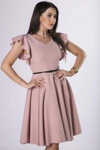 sukienka 36 38 40 42 44 M84243 kolory falbana pasek...