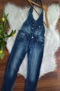 Ogrodniczki Jeansowe Pebo Jeans rozmiar XS S 34 36...