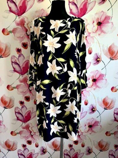 Suknie i sukienki dorothy perkins sukienka modny wzór kwiaty floral hit 42