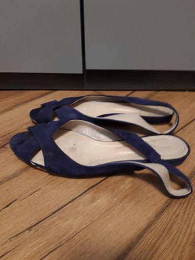 Sandały Szafirowe Sandały
