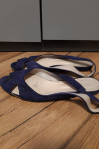 Szafirowe Sandały