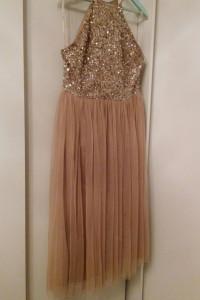 Tiulowa sukienka 40...
