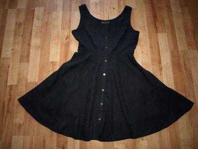Suknie i sukienki Granatowa sukienka rozm M