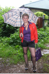 stylizacja na deszcz