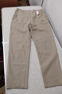 letnie spodnie beżowe rozmiar 48...
