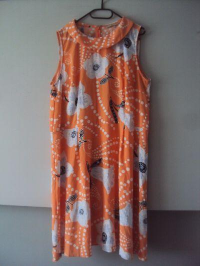 Suknie i sukienki rozkloszowana sukienka w kiatuszki