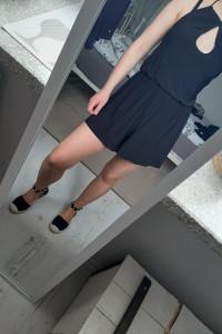 Czarny kombinezon xs New Look...