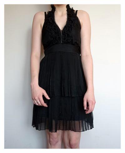 Suknie i sukienki Czarna sukienka Luxe