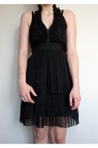 Czarna sukienka Luxe