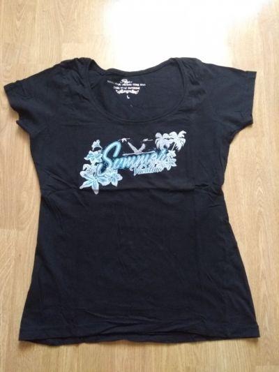 T-shirt Koszulka bluzka młodzieżowa damska L