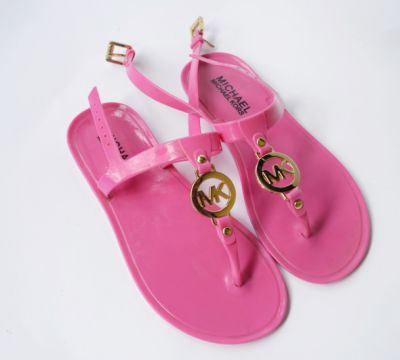 Sandały Sandały Japonki Michael Kors MK Różowe 35 22 cm