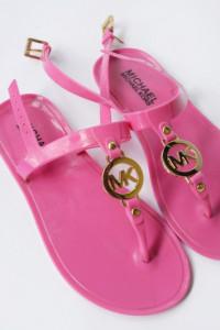 Sandały Japonki Michael Kors MK Różowe 35 22 cm