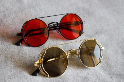Okulary Steampunk okulary przeciwsłoneczne