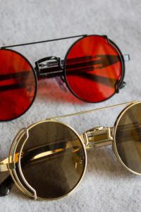 Steampunk okulary przeciwsłoneczne