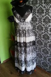 Letnia długa sukienka 42...