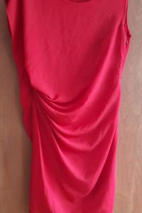 Czerwona sukienka roz 46 koktajlowa imprezy ślub wesele przyjęc...
