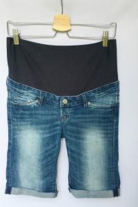 Spodenki Ciążowe Szorty Dzinsowe H&M Mama M 38 Jeans...