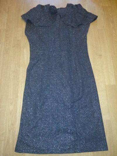 Suknie i sukienki Sukienka wizytowa sylwestrowa 38 40 i narzutka