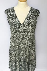 Sukienka H&M Mama Ciążowa Brzuszek Wzory XL 42 Elegancka