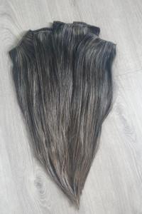 Włosy naturalne 55cm 160gram