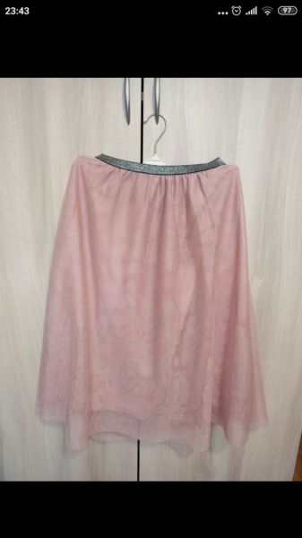 Ubrania Spódnica tiulowa pepco M L różowa