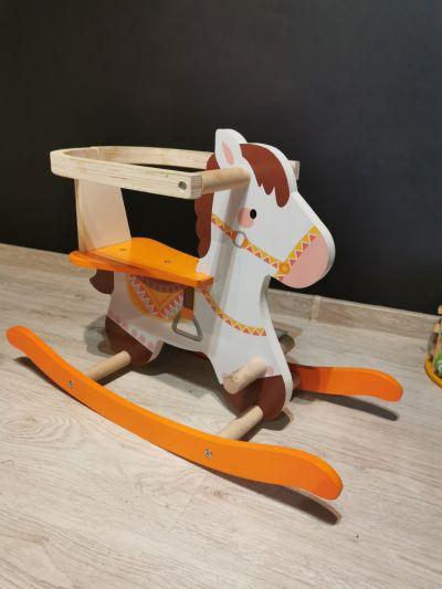 Zabawki Drewniany konik bujany